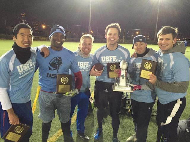 UNC FINEST FALL 2014 4man Flag Champions.